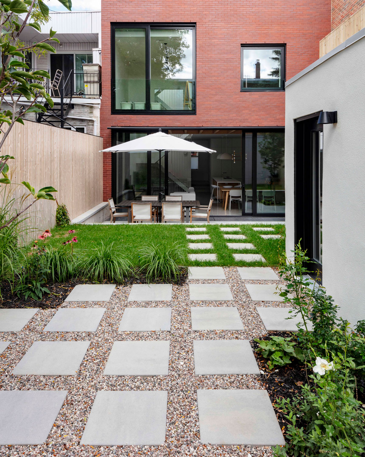 Our sleek and contemporary Industria Smooth patio slab
