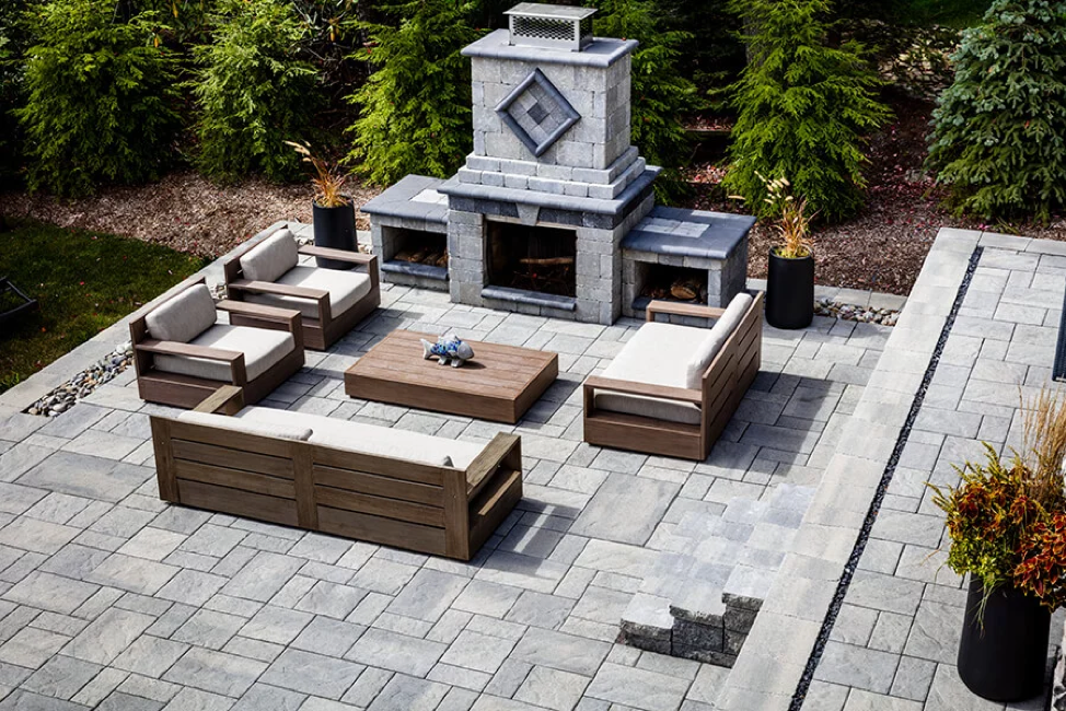 Breaking It Down Comparing Stamped Concrete Vs Pavers Slabs