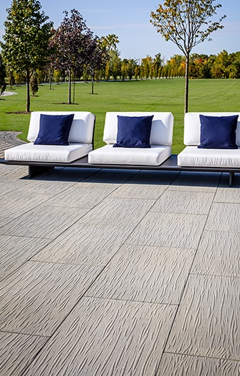 Ocean Grande outdoor slab by Techo-Bloc