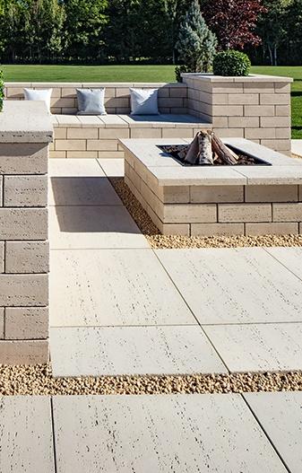 Patio paver for backyard design