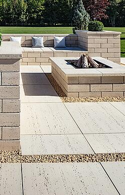 Patio paver for backyard design