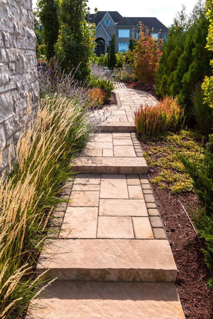 Paving stones - landscape steps