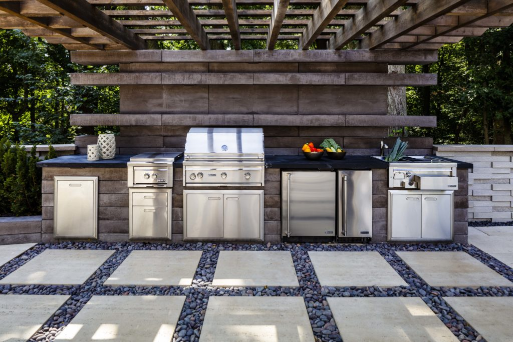 Boost property value - outdoor kitchen