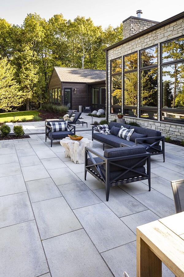 Updated backyard that can boost property