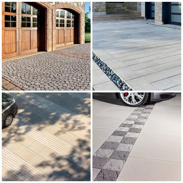 Driveway pavers for curb appeal