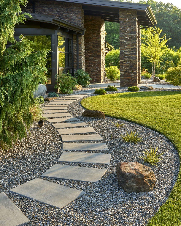 Our smooth and contemporary Blu Grande Smooth patio slab