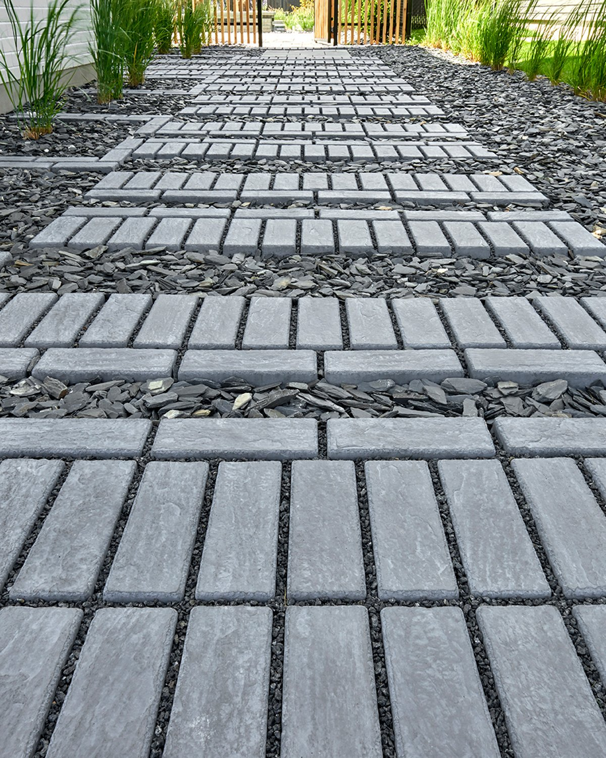 Our Mika paver used in a driveway design