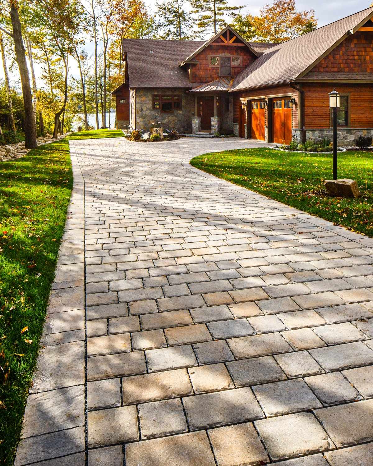 Our Pure paver in a driveway application