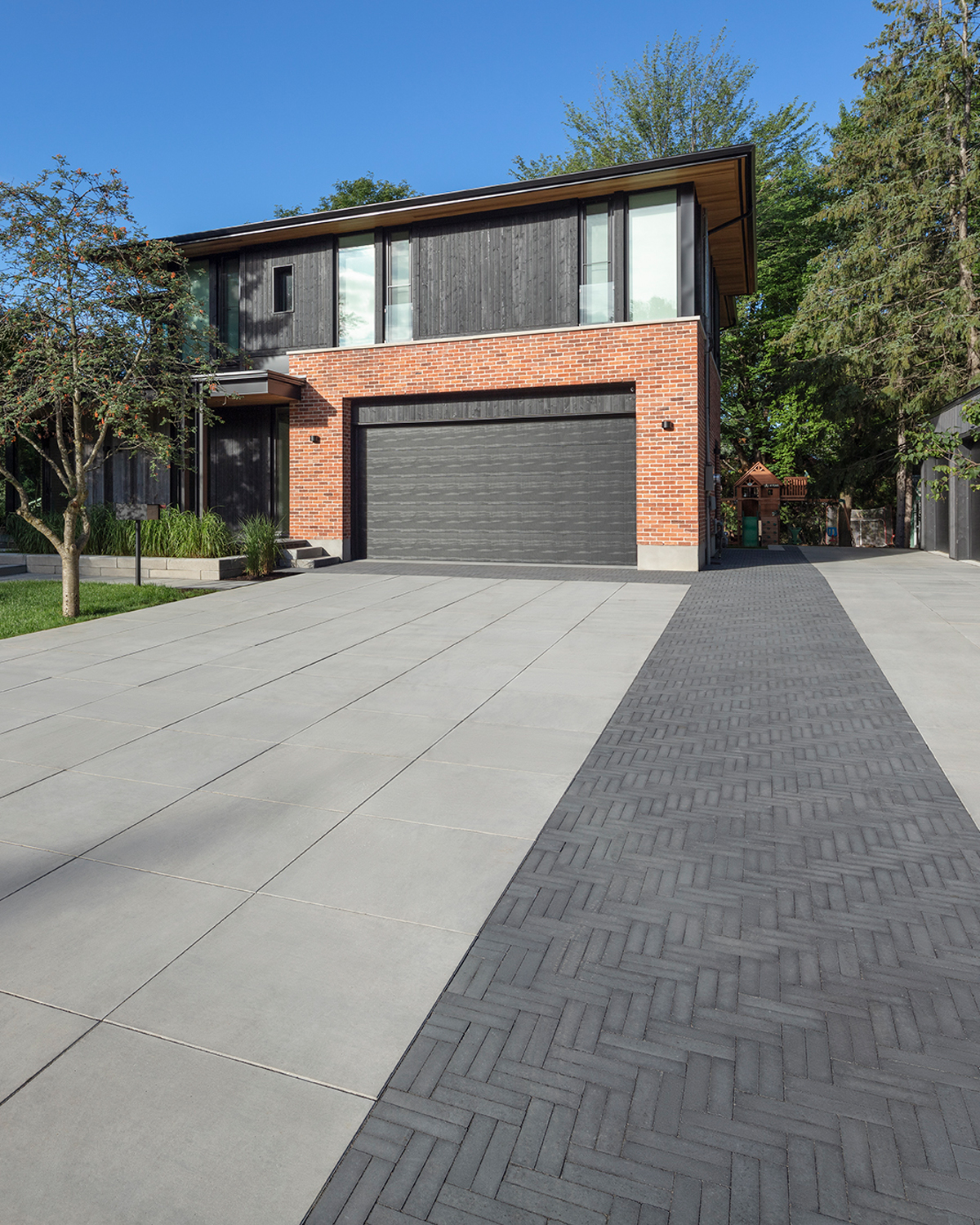 Our Westmount paver in a driveway application