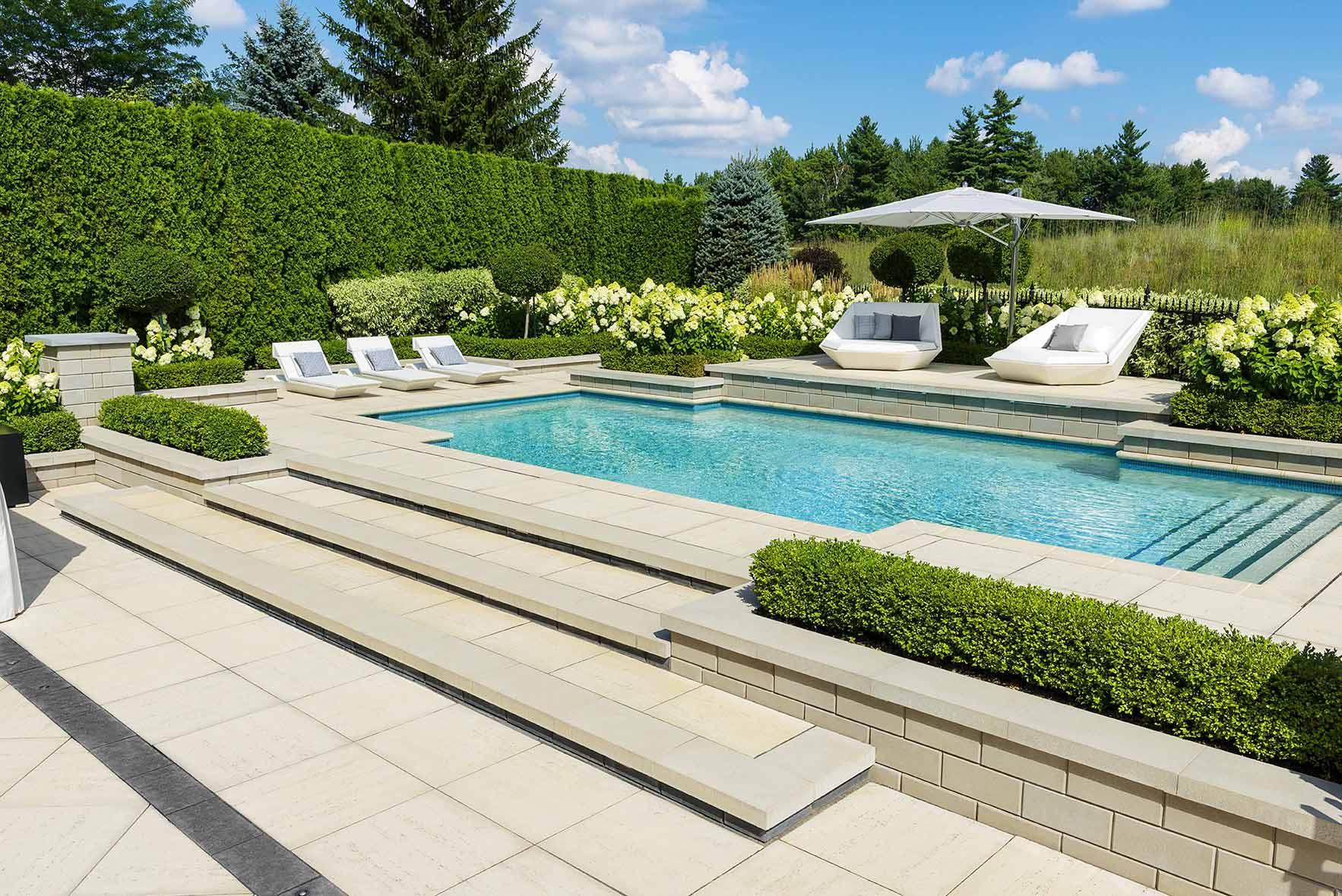 24 Inground Pool Landscaping Ideas